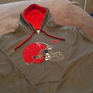 Cleveland Browns hooded sweatshirt